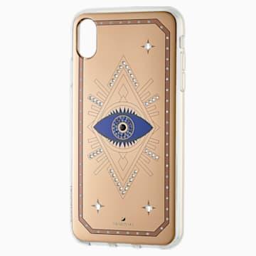 Tarot Eye Smartphone 套, iPhone® XS Max, 粉紅金色 - Swarovski, 5507388