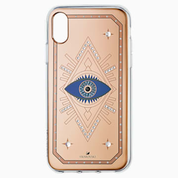 Tarot Eye Smartphone Case, iPhone® XR, Pink Gold - Swarovski, 5507389