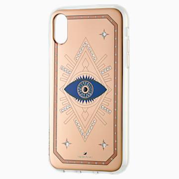 Tarot Eye Smartphone Case, iPhone® XR, Pink Gold - Swarovski, 5507389