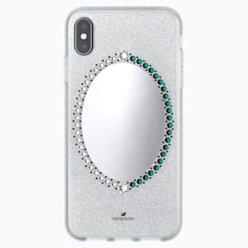 Black Baroque Smartphone Case, iPhone® XS Max, Grey - Swarovski, 5507554