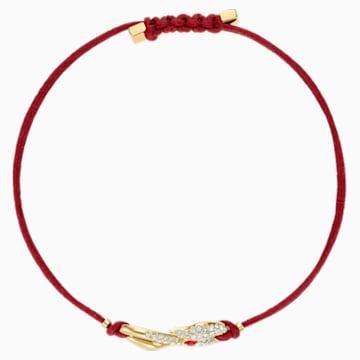 Swarovski Power Collection Hook 手链, 红色, 镀金色调 - Swarovski, 5508530