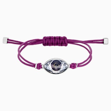 Swarovski Power Collection Evil Eye Armband, violett, Edelstahl - Swarovski, 5508534