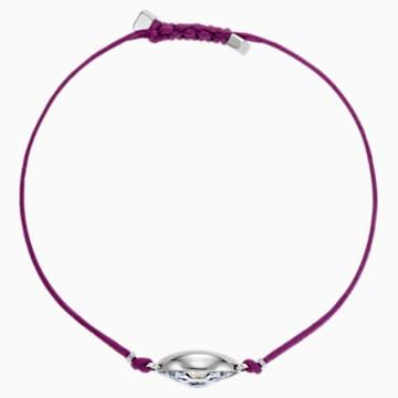 Bracelet Swarovski Power Collection Evil Eye, violet, acier inoxydable - Swarovski, 5508534