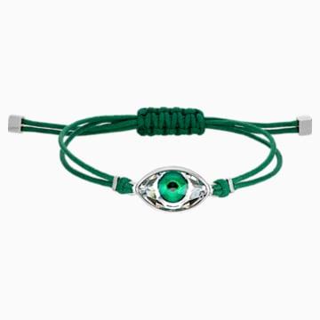 Swarovski Power Collection Evil Eye 手鏈, 綠色, 不銹鋼 - Swarovski, 5508535
