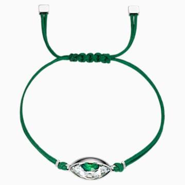 Swarovski Power Collection Evil Eye 手链, 绿色, 不锈钢 - Swarovski, 5508535