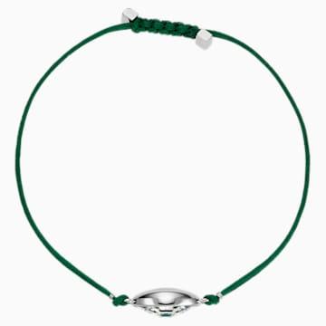 Pulsera Swarovski Power Collection Evil Eye, verde, acero inoxidable - Swarovski, 5508535
