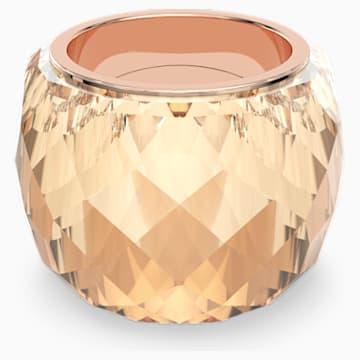 Prsten Swarovski Nirvana, zlatý odstín, pozlacený růžovým zlatem PVD - Swarovski, 5508720