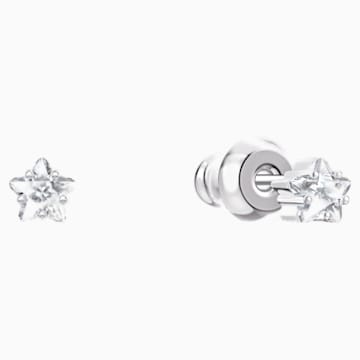 Boucles d'Oreilles « Ear-Jacket » Penélope Cruz Moonsun, blanc, Métal rhodié - Swarovski, 5508832
