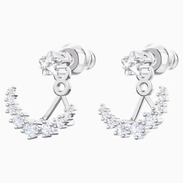 Penélope Cruz Moonsun Подвески для серёжек, Белый Кристалл, Родиевое покрытие - Swarovski, 5508832