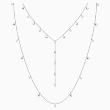 Collana Penélope Cruz Moonsun, bianco, Placcatura rodio - Swarovski, 5509171