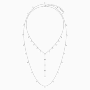 Penélope Cruz Moonsun 项链, 白色, 镀铑 - Swarovski, 5509171