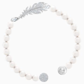 Nice Pearl Armband, weiss, Rhodiniert - Swarovski, 5509723