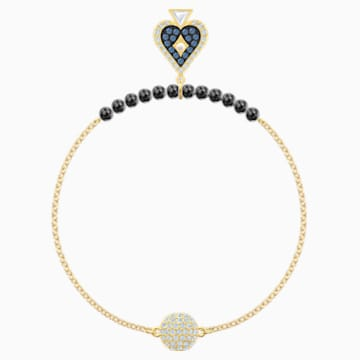 Swarovski Remix Collection Spade Strand, mehrfarbig, Vergoldet - Swarovski, 5511091
