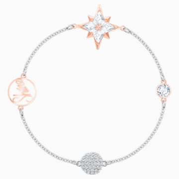 Swarovski Remix Collection Star Strand, Multi-colored, Mixed metal finish - Swarovski, 5511093