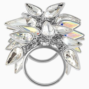 Polar Bestiary Cocktail Ring, Multi-colored, Rhodium plated - Swarovski, 5511423