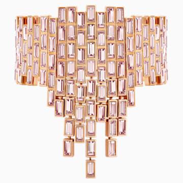 Fluid 代表性手链, 紫罗兰, 镀玫瑰金色调 - Swarovski, 5512005