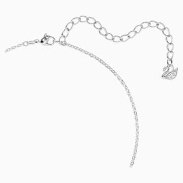 Swarovski Iconic Swan Pendant, Multi-colored, Rhodium plated - Swarovski, 5512094