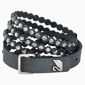 Swarovski Power Collection Bracelet, Dark grey - Swarovski, 5512509