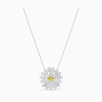 Přívěsek Eternal Flower, žlutý, rhodiovaný - Swarovski, 5512660