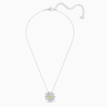 Eternal Flower 鏈墜, 黃色, 多種金屬潤飾 - Swarovski, 5512662
