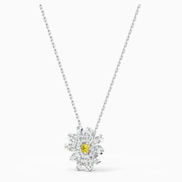 Eternal Flower Anhänger, gelb, Metallmix - Swarovski, 5512662
