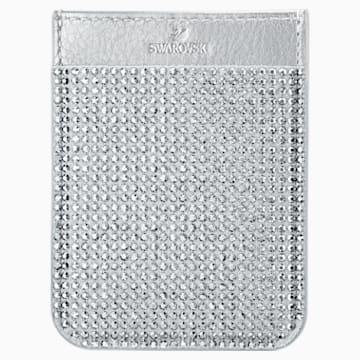 Swarovski Smartphone sticker pocket, Grey - Swarovski, 5514685
