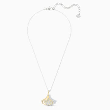Stunning Ginko Подвеска, Белый Кристалл, Отделка из разных металлов - Swarovski, 5515462