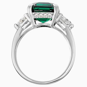 Attract Kokteyl Yüzüğü, Yeşil, Rodyum kaplama - Swarovski, 5515709