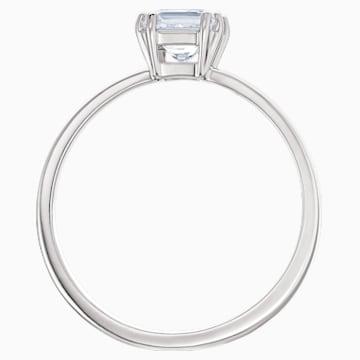 Attract motívumos gyűrű, fehér színű, ródium bevonattal - Swarovski, 5515728