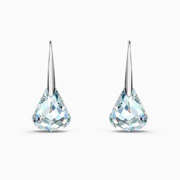 Boucles d'oreilles Spirit, blanc, métal rhodié - Swarovski, 5516533