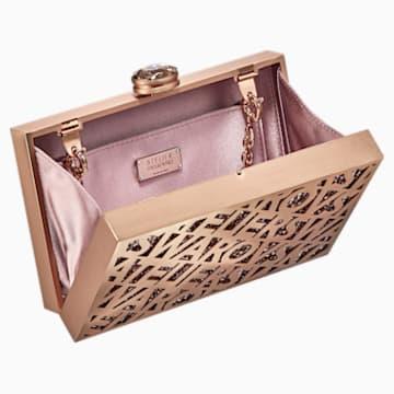 Logo Lace Bag, Rose-gold tone - Swarovski, 5517020