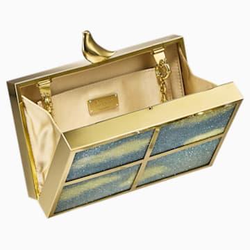 Free As A Bird Bag, Gold tone, Gold-tone plated - Swarovski, 5517024
