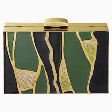Borsetta Kintsugi, multicolore, placcato color oro - Swarovski, 5517035