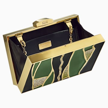 Kintsugi Bag, Multicolored, Gold-tone plated - Swarovski, 5517035