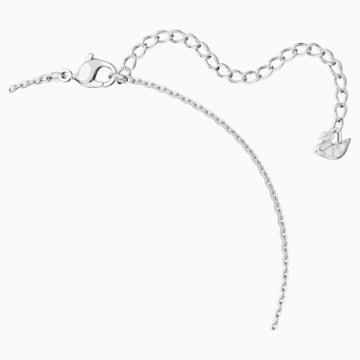 Attract Soul 项链, 粉红色, 镀铑 - Swarovski, 5517115