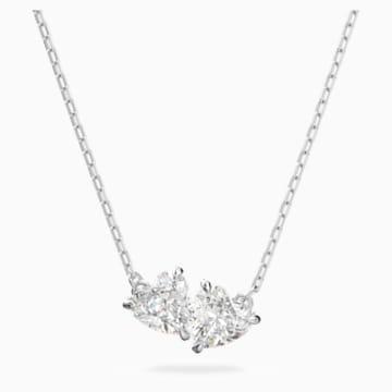 Collier Attract Soul, blanc, métal rhodié - Swarovski, 5517117