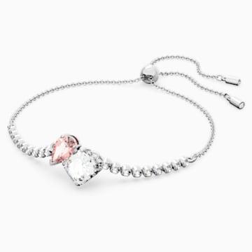 Attract Soul Armband, rosa, rhodiniert - Swarovski, 5517120