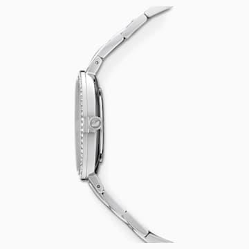 Cosmopolitan Uhr, Metallarmband, blau, Edelstahl - Swarovski, 5517790