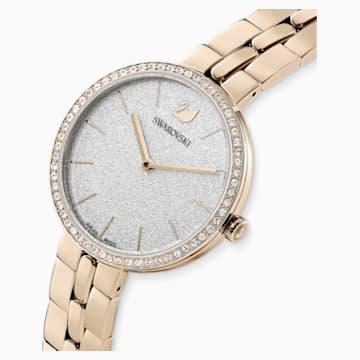 Reloj Cosmopolitan, brazalete de metal, tono dorado, PVD tono oro champán - Swarovski, 5517794