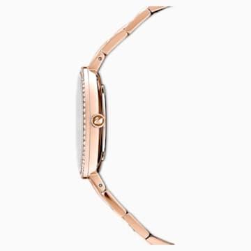 Cosmopolitan karóra, fém karkötő, rózsaszín, rozéarany árnyalatú PVD - Swarovski, 5517800