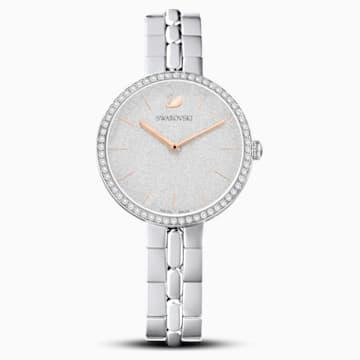 Cosmopolitan-horloge, Metalen armband, Wit, Roestvrij staal - Swarovski, 5517807