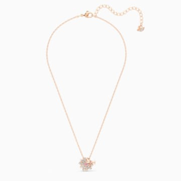 Eternal Flower Dragonfly粉红色蜻蜓造型首饰套装- Swarovski, 5518141