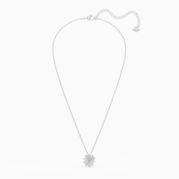 Parure Eternal Flower, jaune, finition mix de métal - Swarovski, 5518146
