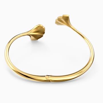 Stunning Ginko Armreif, weiss, vergoldet - Swarovski, 5518170