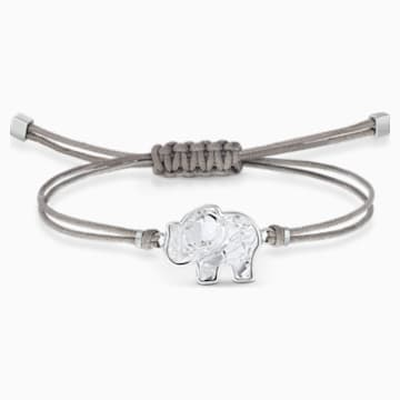 Swarovski Power Collection Elephant Armband, grau, Edelstahl - Swarovski, 5518653