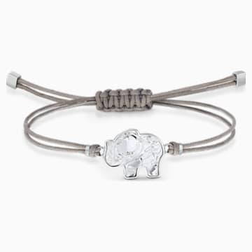 Swarovski Power Collection Elephant Bracelet, Grey, Stainless steel - Swarovski, 5518653