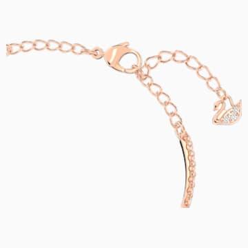 Swarovski Infinity-armband, Wit, Roségoudkleurige toplaag - Swarovski, 5518871