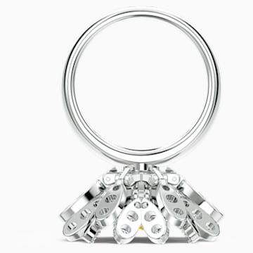 Eternal Flower Ring, Yellow, Mixed metal finish - Swarovski, 5520366