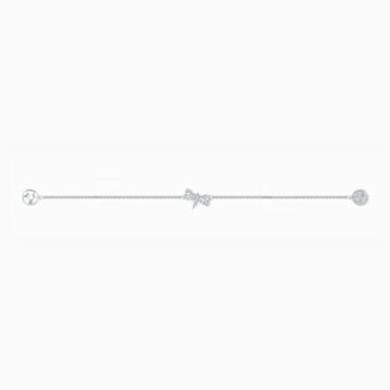 Strand Swarovski Remix Collection Dragonfly, blanc, métal rhodié - Swarovski, 5520650