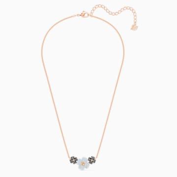 Parure Latisha, noir, métal doré rose - Swarovski, 5520946